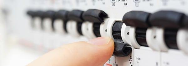 verzwaring elektriciteitsaansluiting